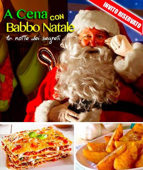 Cena con Babbo Natale Montecatini Terme